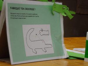 ferme au crocodile dessin
