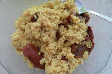 risotto tomate séché10