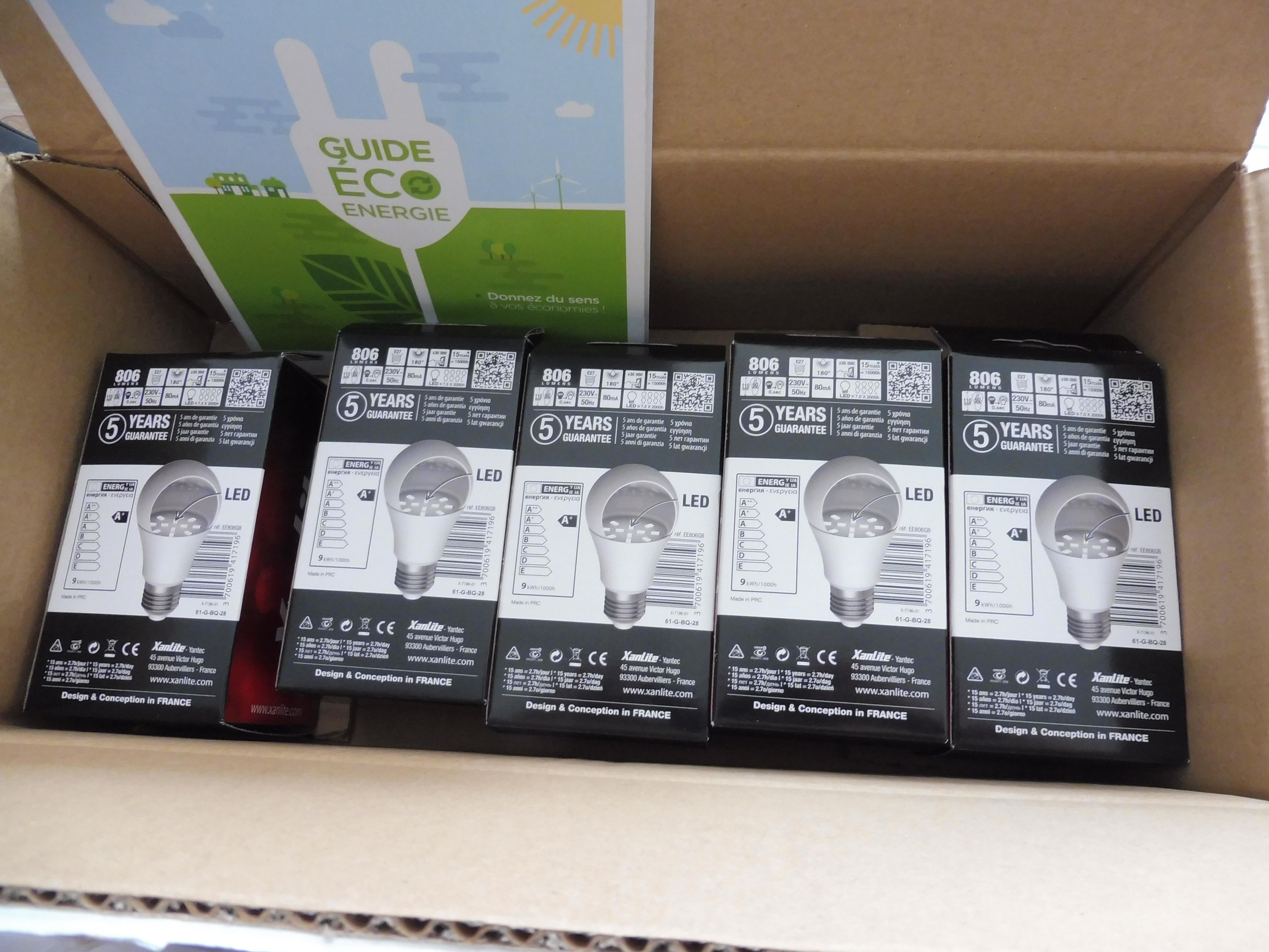 Kit eco energie offert par auchan attention dernier jours emilie vous dit tout - Auchan prime eco energie ...