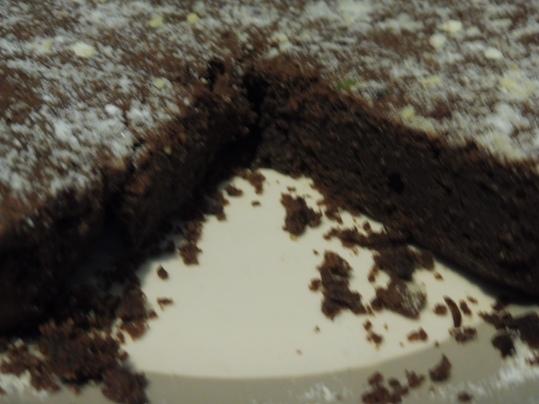 Gâteau de Nancy avec blanc en neige
