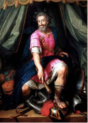 Henri-IV en rose